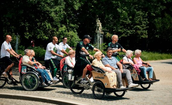 Kiltrunners und Senioren on tour