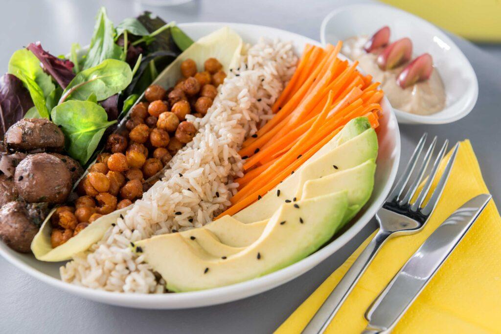 veganes Gericht von Samocca