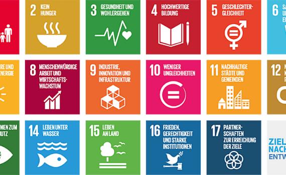 17 SDGs in der Übersicht