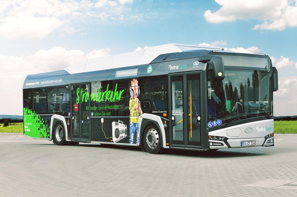 Fürther E-Bus Solaris urbino