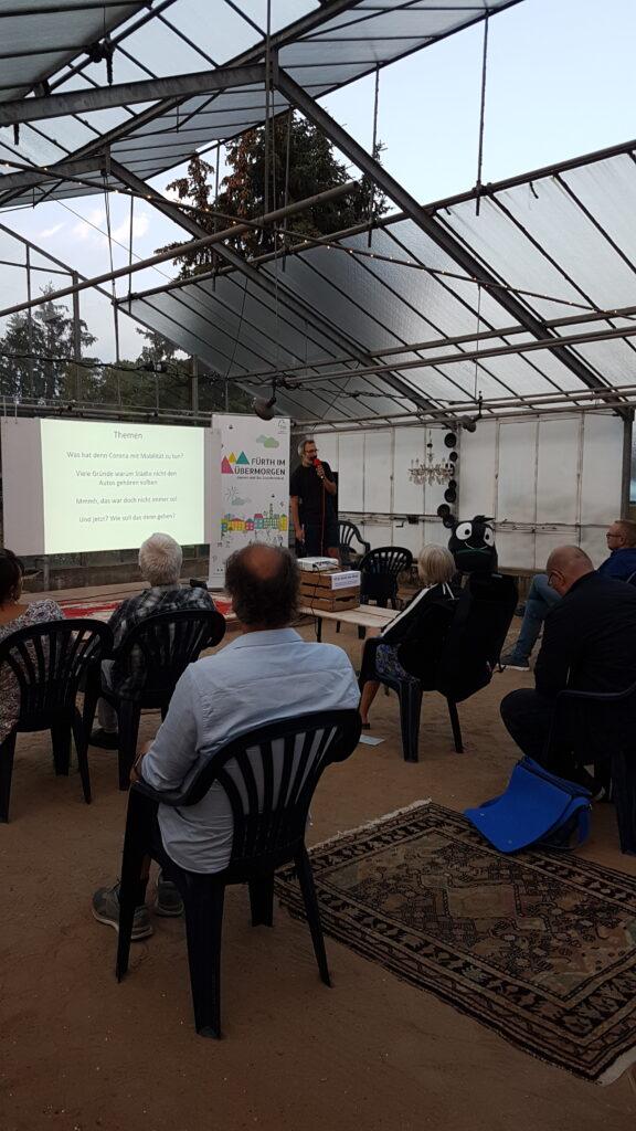 Dr. Abu-Omar im Vortrag