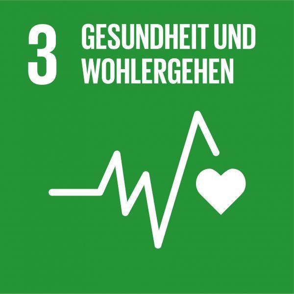 SDG 3 Gesundheit und Wohlergehen
