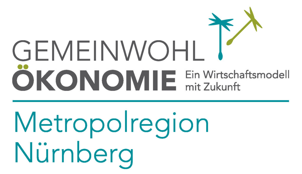 Gemeinwohlökonomie Logo Metropolregion Nürnberg